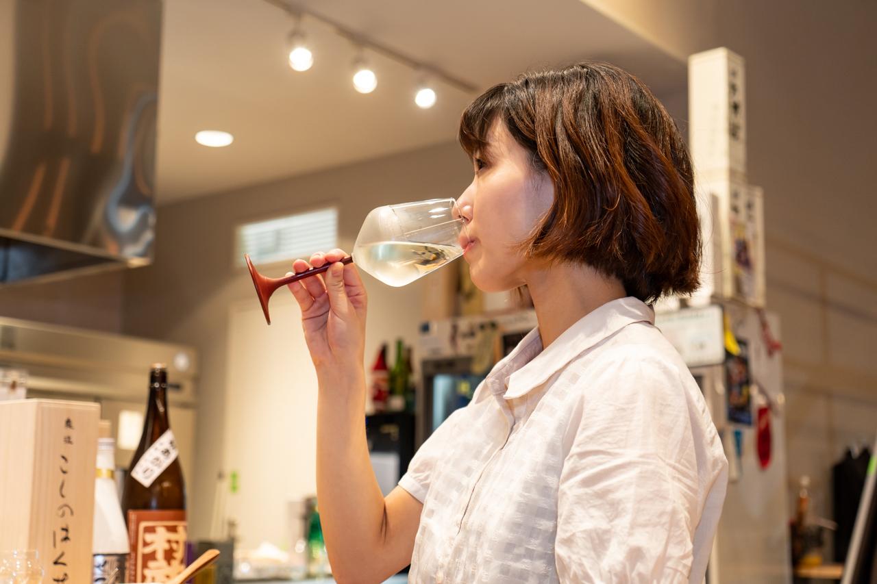 低温貯蔵で熟成された日本酒